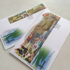 Rivers in Malaysia First Day Cover 2018 (Longest Stamp)