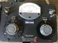 General Radio Company Type 546-0 Audio Frequency Microvolter