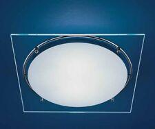 LEUCOS / AURELIANO TOSO - MEY 30, lampada da parete-soffitto, cromo-trasparente