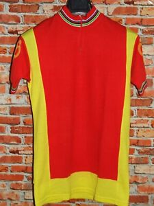 Shirt Bike Shirt Maillot Cycling Heroic Vintage 70'S Tricodonor Acrylic