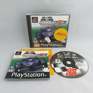 Playstation 1 PS1 - Formula 1 98 F1 Officially Licensed Game