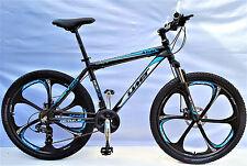 """BICICLETTA Mountain Bike 26"""" GT MTB in alluminio, 21, Shimano DISC BRAKE Sparkle-Zoom avancorpo"""