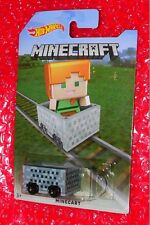 Hot Wheels MINECRAFT MINECART (#2) FBM75-D910