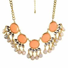 Sale:  Pink  Coloured Statement Necklace