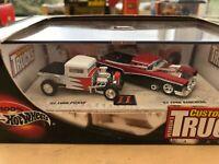 Hot Wheels Collectible Custom Classic Trucks Magazine Model Set