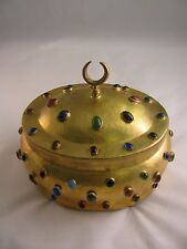 Ottoman Style Engraved Copper Box 7001