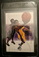 2001 SP AUTHENTIC SAMPLE PROMO #S1 KOBE BRYANT LOS ANGELES LAKERS HOF MINT