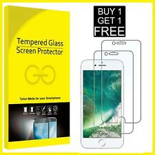 For Apple iPhone 7 Tempered Glass Screen Protector Saver - BRAND NEW!!
