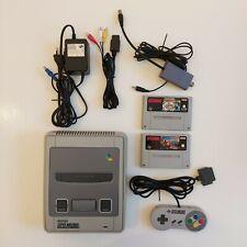 Super Nintendo Entertainment System SNES - Super Mario - Donkey Kong - Perfect