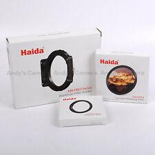 Haida 100-Pro Filter Holder + 77mm Adapter Ring + CPL / 100mm - Pro Series Kit