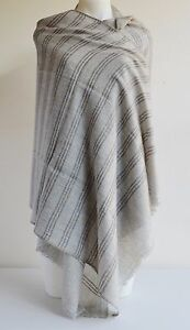 100% Cashmere Shawl Pashmina Scarf Wrap Stole Women Wool Soft Warm Winter New 23