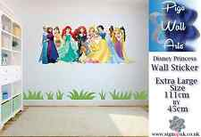Disney Princess wall sticker girls bedroom wall art decal mural.