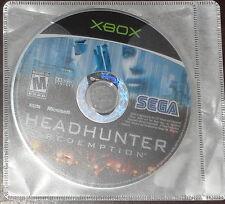 Microsoft Xbox. Headhunter Redemption (NTSC)