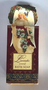 Punch Studio Luxury Lavender Soap In Angel Box Triple Milled