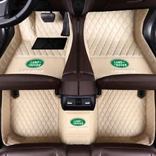 Car Floor Mat For Land Rover Discovery LR2LR3LR4 Range Rover(Evoque Sport Velar)
