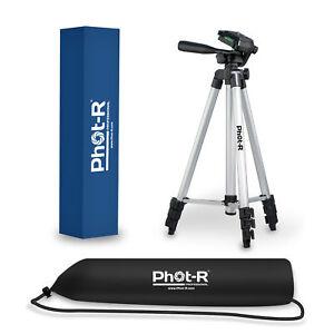 "PhotR 50"" Universal Camera Camcorder Tripod Stand for Canon Nikon Sony Panasonic"
