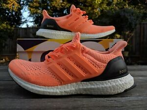 adidas Ultra Boost 1.0 Flash Orange (US W Size 8 = M Size 7) USED RARE