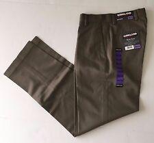 NWT Kirkland Signature Men's Non-Iron Classic Fit Flat Front Pants, Size 30x34