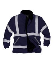 StandSafe Security Work Fleece Jacket Navy Size Medium