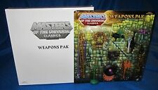 Masters Of The Universe Classics Great Wars Assortment Weapons Pak 5960 NEW
