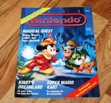 1993 Vintage Club Nintendo Magazine Mega Man 4 Super Mario Land Kart Kirby Zelda