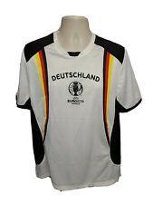 2006 Official UEFA EURO France Deutschland #10 Mens Large White Jersey