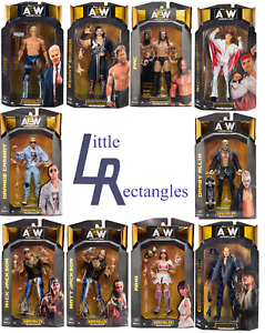 AEW Unrivaled Figures - Jazwares - Brand New - Sealed - SHIPPING COMBINES
