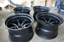 "JDM 15"" X 10"" Miata MX5 pcd100x4 wheels crx watana-be Style roadster eg6 ef8 RS"
