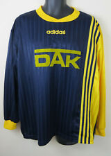 cdd220eb8 Vtg Adidas 90s Football Shirt Bielefeld Retro Soccer Jersey Navy Trikot  Mens XL