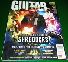 30 SHREDDERS: Joe SATRIANI, Jeff Loomis, IHSAHN, Herman Li,... 2008 Guitar World