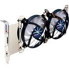 Titan Adjustable Dual Fan PCI Slot VGA Cooler TTC-SC07TZ(RB) Dual X Holder