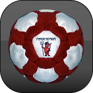 FURY FOOTBAG 42 PANELS 100% Iron filling Hacky sack
