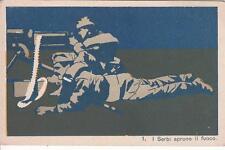 9167) WW1 LA GUERRA EUROPEA DEL 1914. SOLDATI SERBI SPARANO CON MITRAGLIATRICE.