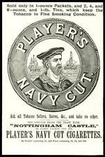1896 Antique Print - ADVERTISING Players Navy Cut Nottingham Castle Tobacco (22)
