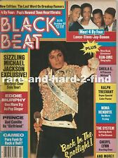 BLACK BEAT October 1987 MICHAEL JACKSON Rare Vintage Magaizine