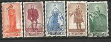 Belgium Belgica Scott # B472/476 (o) Serie Completa