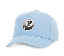 Pink Dolphin 8-Ball Snapback Light Blue