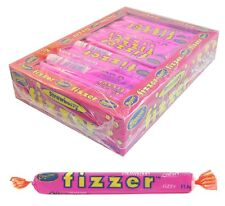 Bulk Lollies  72 x Beacon Fizzer Strawberry Fizzers Halloween Candy Buffet