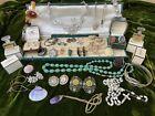 Vintage Antique Jewellery Job Lot Silver 925 Chanel Parfum Curios Unusual