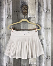 Athleta Girl White Tennis Skort Skirt Size Large