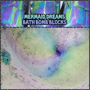 Mermaid Dreams Bath Bomb Blocks (4pack)