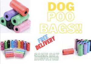 DOG POO BAGS  PRINTED WASTE BAG DEGRADABLE POOPS BAGS PET SUPPLIES  BİOGRADABLE