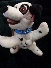 "Disney Store & Parks Exclusive Mini Bean Bag Dalmatian Lucky 8"" W/ Tag"