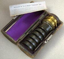 Vintage Emil Busch Vademecum No. 2-Convertible Lens Set-Casket Set.No.II.Busch's