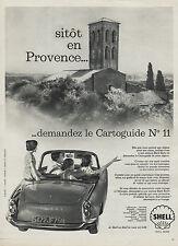 PUBLICITE  SIMAC ARONDE RECOMMANDE SHELL 1959  AD (7b)