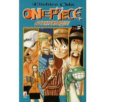 One Piece 34 SERIE BLU - MANGA STAR COMICS  - NUOVO- Disponibili tutti i numeri!