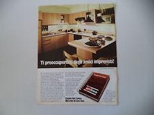 advertising Pubblicità 1980 CUCINE ARC LINEA