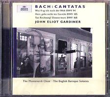 Gardiner Bach Cantata bwv94 105 168 Trinity Sunday CD cosa chiedo dopo il mondo