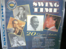 SWING TIME 20 GREAT ARTISTS (CD) CROWN COLLECTION
