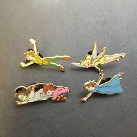 Walt Disney Peter Pan 4 Pin Booster Collection Wendy Michael Disney Pin 60199